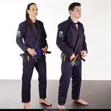 "93 Brand ""Hooks 2.0"" Jiu Jitsu Gi (Navy Blue) with Free White Belt"